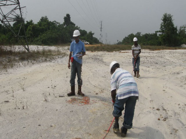 Ikot Abassi Gas Pipeline Survey 3 - Mountleigh